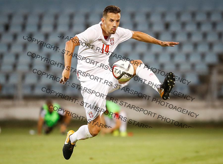 Fudbal Soccer<br /> Reprezentacija Srbije U21<br /> Kvalifikacije za U21 EURO 2019<br /> Srbija U21 v Gibraltar U21<br /> Vukasin Jovanovic<br /> Jagodina, 09.01.2017.<br /> foto: Srdjan Stevanovic/Starsportphoto &copy;