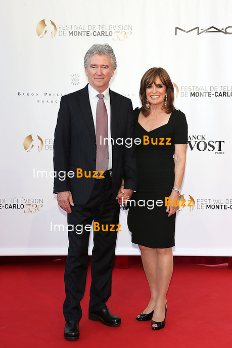 CPE/June 12, 2013-Photocall of 'Dallas' with cast : Josh Henderson, Patrick Duffy, Linda Gray, Julie Gonzalo , Brenda Strong and Jesse Metcalfe during the 53rd Monte Carlo TV Festival.