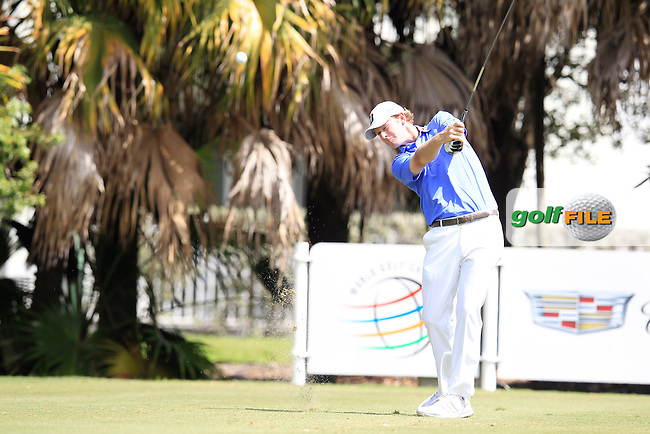 Brandt Snedeker (USA) during the 1st round at the WGC Cadillac Championship, Blue Monster, Trump National Doral, Doral, Florida, USA<br /> Picture: Fran Caffrey / Golffile