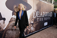 Los Angeles, CA - MAy 14:  Kim Dickens attends the Los Angeles Premiere of HBO's 'Deadwood' at Cinerama Dome on May 14 2019 in Los Angeles CA. <br /> CAP/MPI/CSH/IS<br /> &copy;IS/CSH/MPI/Capital Pictures