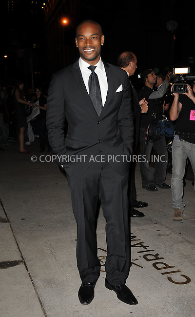 WWW.ACEPIXS.COM . . . . . ....October 22 2009, New York City....Tyson Beckford arriving at the Fashion Group International's 26th annual Night Of Stars at Cipriani, Wall Street on October 22, 2009 in New York City.....Please byline: KRISTIN CALLAHAN - ACEPIXS.COM.. . . . . . ..Ace Pictures, Inc:  ..tel: (212) 243 8787 or (646) 769 0430..e-mail: info@acepixs.com..web: http://www.acepixs.com