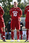 29 November 2009: Indiana's Andy Adlard. The University of North Carolina Tar Heels defeated the Indiana University Hoosiers 1-0 at Fetzer Field in Chapel Hill, North Carolina in an NCAA Division I Men's Soccer Tournament Third Round game.