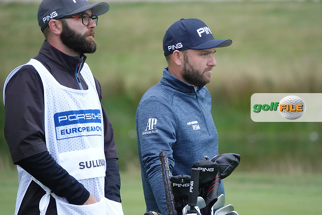 Andy Sullivan (ENG) in action during the first round of the Porsche European Open , Green Eagle Golf Club, Hamburg, Germany. 05/09/2019<br /> Picture: Golffile   Phil Inglis<br /> <br /> <br /> All photo usage must carry mandatory copyright credit (© Golffile   Phil Inglis)Jorge Campillo (ESP)