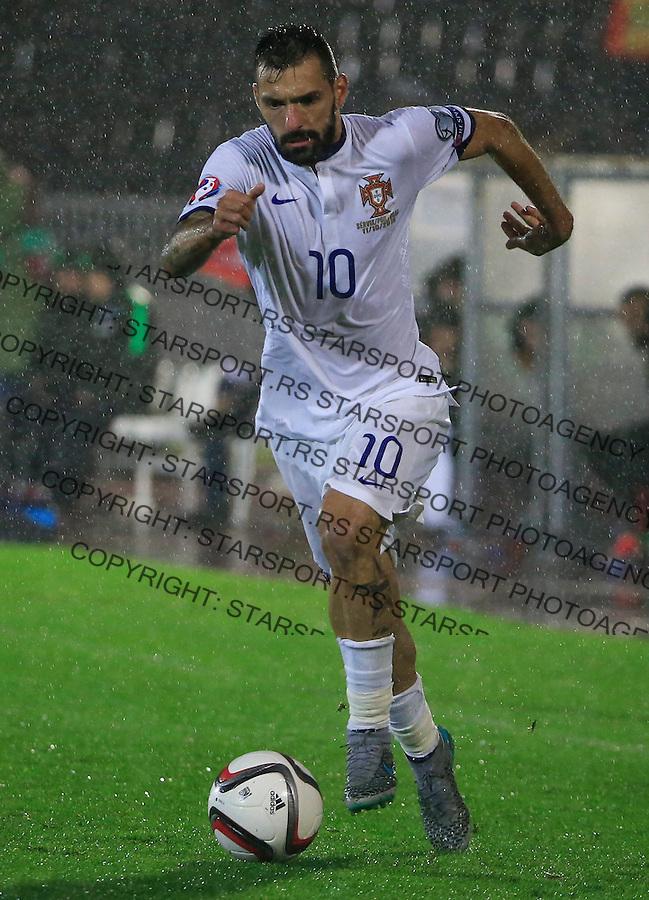 Fudbal, kvalifikacije za UEFA EURO 2016 qualifiers-Qualifying round - Group I<br /> Srbija v Portugal<br /> Danny<br /> Beograd, 11.10.2015.<br /> foto: Srdjan Stevanovic/Starsportphoto &copy;