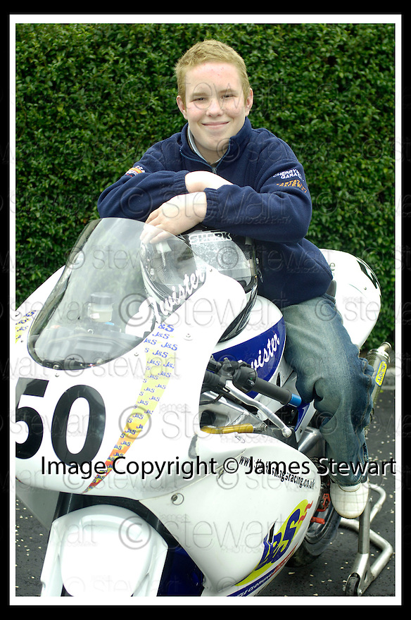 20/04/2006         Copyright Pic: James Stewart.File Name : sct_jspa03_HASTINGS_tim.TIM HASTINGS FROM BONNYBRIDGE WHO WAS SERIOUSLY INJURED IN A CRASH DURING A RACE AT LYDDEN HILL RACE TRACK..... Payments to :.James Stewart Photo Agency 19 Carronlea Drive, Falkirk. FK2 8DN      Vat Reg No. 607 6932 25.Office     : +44 (0)1324 570906     .Mobile   : +44 (0)7721 416997.Fax         : +44 (0)1324 570906.E-mail  :  jim@jspa.co.uk.If you require further information then contact Jim Stewart on any of the numbers above.........