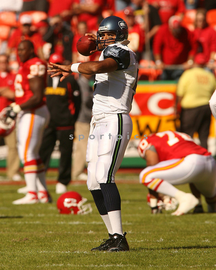 GIBRAN HAMDAN, of the Seattle Seahawks in action against the Kansas City Chiefs on October 29, 2006 in Kansas City, MO...Chiefs win 35-28..Kevin Tanaka/ SportPics