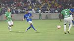 En la inauguración del estadio Romelio Martínez, de Barranquilla, estrellas internacionales vencieron 5-3 a las nacionales.