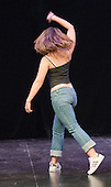 "Choreographer, Hannah Greenslade, rehearsing.  Special Olympics Surrey put on a show,   ""Beyond the Stars"", at the Rose Theatre, Kingston upon Thames to raise money for the  SOGB team.  The Special Olympics are for athletes with learning disabilities."