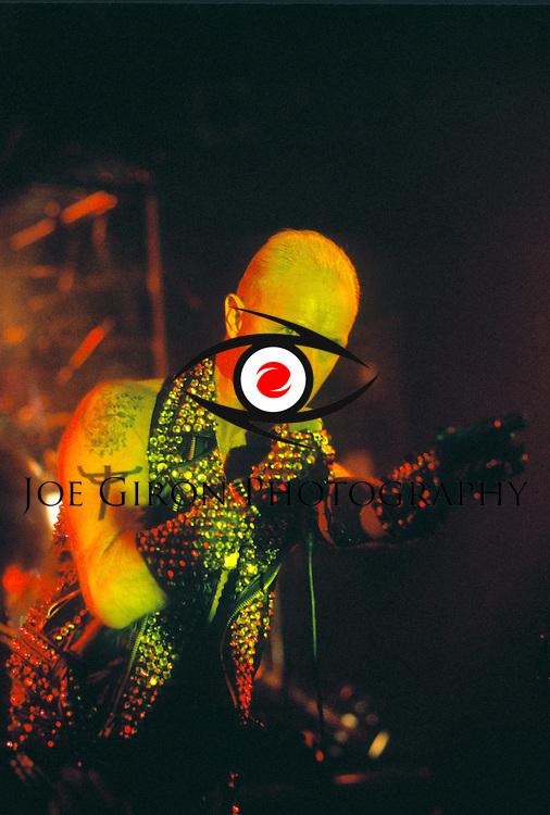 Various portraits & live photographs of the rock band, Judas Priest.
