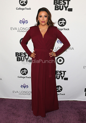 LOS ANGELES, CA - NOVEMBER 8: Eva Longoria at the Eva Longoria Foundation Dinner Gala honoring Zoe Saldana and Gina Rodriguez at The Four Seasons Beverly Hills in Los Angeles, California on November 8, 2018. Credit: Faye Sadou/MediaPunch