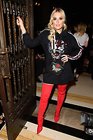 Tallia Storm<br /> at the Pam Hogg show as part of London Fashion Week, London<br /> <br /> <br /> ©Ash Knotek  D3378  16/02/2018