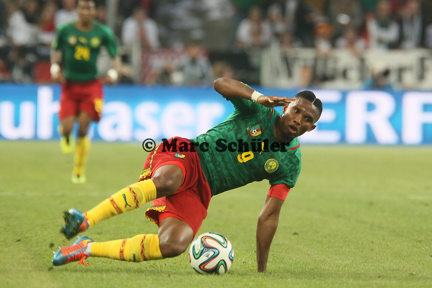 Samule Eto'o (CAM) - Deutschland vs. Kamerun, Mönchengladbach