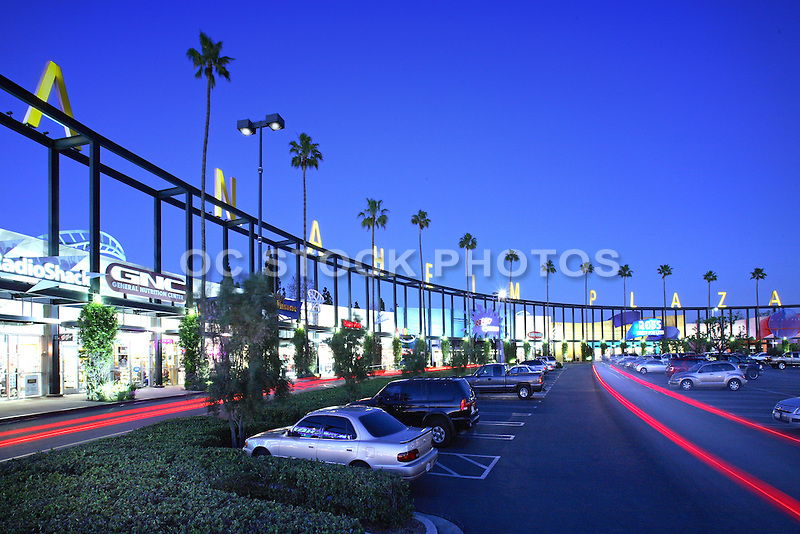 Anaheim Plaza Orange County California