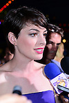 MIAMI BEACH, FL - MARCH 21: Anne Hathaway attends the 'Rio 2' Premiere at Fontainebleau Miami Beach on March 21, 2014 in Miami Beach, Florida. (Photo by Johnny Louis/jlnphotography.com)