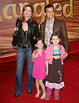 Melinda McGraw & family at Disney Premiere of Tangled held at El Capitan Theatre in Hollywood, California on November 14,2010                                                                               © 2010 Hollywood Press Agency