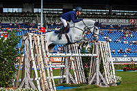 NED-Tim Lips rides Bayro during the SAP Cup - CICO4*-S Nations Cup Eventing Showjumping. 2019 GER-CHIO Aachen Weltfest des Pferdesports. Friday 19 July. Copyright Photo: Libby Law Photography