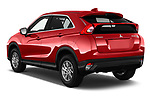 Car pictures of rear three quarter view of a 2018 Mitsubishi Eclipse Cross ES 2WD 5 Door SUV angular rear