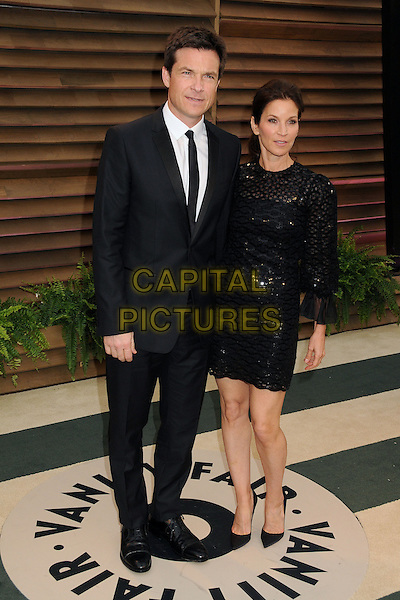 02 March 2014 - West Hollywood, California - Jason Bateman, Amanda Anka. 2014 Vanity Fair Oscar Party following the 86th Academy Awards held at Sunset Plaza.  <br /> CAP/ADM/BP<br /> &copy;Byron Purvis/AdMedia/Capital Pictures