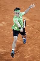 Kai Nishikori, Japan, during Madrid Open Tennis 2016 Semifinal match.May, 7, 2016.(ALTERPHOTOS/Acero)a /NortePhoto.com