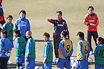 Norio Sasak Head Coach (JPN), .FEBRUARY 11, 2012 - Football / Soccer : Nadeshiko Japan team training Wakayama camp at Kamitonda Sports Center in Wakayama, Japan. (Photo by Akihiro Sugimoto/AFLO SPORT) [1080]