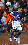 Johnny Russell and Leon Osman
