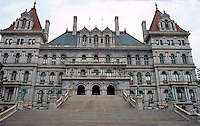 Capitol, Albany, New York 1867-1883 (?) This modified Romanesque superceded Fuller's modified Baroque, the main difference between this and the Eiolitz/Richardson is that this lacks the immense Roman tower.