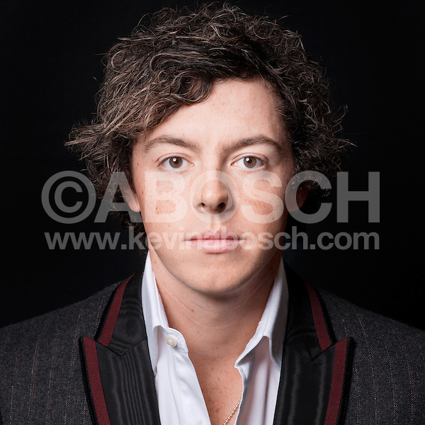 Portrait of Golfer Rory McIlroy photographed by Kevin Abosch