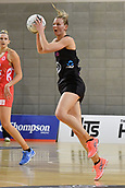 7th September 2017, Te Rauparaha Arena, Wellington, New Zealand; Taini Jamison Netball Trophy; New Zealand versus England;  Silver Ferns captain Katrina Grant looks to pass