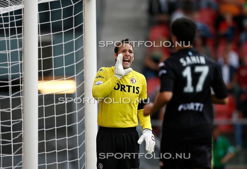 Nederland, Utrecht, 19 augustus 2007.Eredivisie.Seizoen 2007-2008.FC Utrecht-Feyenoord (0-3).Henk Timmer schreeuwt naar zijn medespelers.Foto: Jeffrey Derksen