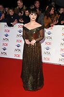 Jessica Fox<br /> arriving for the National TV Awards 2020 at the O2 Arena, London.<br /> <br /> ©Ash Knotek  D3550 28/01/2020