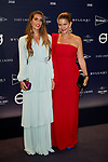 """Ona Carbonell and Samantha Vallejo-Nagera attends to  """"TELVA Tributo. Una cronica de moda. Coleccion Naty Abascal"""" at Royal Academy of Fine Arts of San Fernando in Madrid, Spain. October 09, 2018. (ALTERPHOTOS/A. Perez Meca)"""