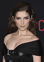 """HOLLYWOOD, CA - OCTOBER 10:  Anna Kendrick at the Los Angeles world premiere of """"The Accountant"""" at TCL Chinese Theater on October 10, 2016 in Hollywood, California. Credit: mpi991/MediaPunch"""