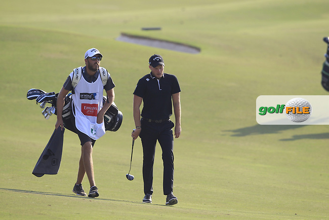 Danny Willett (ENG) on the 15th fairway during the final round of the DP World Tour Championship, Jumeirah Golf Estates, Dubai, United Arab Emirates. 18/11/2018<br /> Picture: Golffile | Fran Caffrey<br /> <br /> <br /> All photo usage must carry mandatory copyright credit (&copy; Golffile | Fran Caffrey)