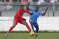 Sam Owusu of Barking during Barking vs South Park, BetVictor League South Central Division Football at Mayesbrook Park on 7th March 2020
