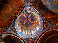 Jvaris Mama Kirche auf der Kote Apkhazi, Tiflis – Tbilissi, Georgien, Europa<br /> Jvaris Mama church at Kote Apkhazi, Tbilisi, Georgia, Europe