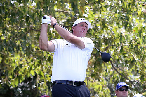 23.09.2016. Atlanta, Georgia, USA.   Phil Mickelson during the second round of the 2016 PGA Tour Championship at East Lake Golf Club in Atlanta, Georgia.