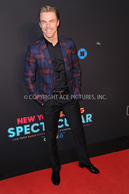 WWW.ACEPIXS.COM<br /> March 26, 2015 New York City<br /> <br /> Derek Hough attending the 2015 New York Spring Spectacular at Radio City Music Hall on March 26, 2015 in New York City.<br /> <br /> Please byline: Kristin Callahan/AcePictures<br /> <br /> ACEPIXS.COM<br /> <br /> Tel: (646) 769 0430<br /> e-mail: info@acepixs.com<br /> web: http://www.acepixs.com