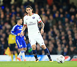 PSG's Angel Di Maria in action<br /> <br /> - UEFA Champions League - Chelsea vs Paris Saint Germain - Stamford Bridge - London - England - 9th March 2016 - Pic David Klein/Sportimage