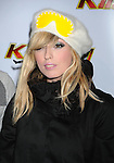 LOS ANGELES, CA. - December 05: Katie White of The Ting Tings arrives at the KIIS FM's Jingle Ball 2009 at the Nokia Theatre L.A. Live on December 5, 2009 in Los Angeles, California.