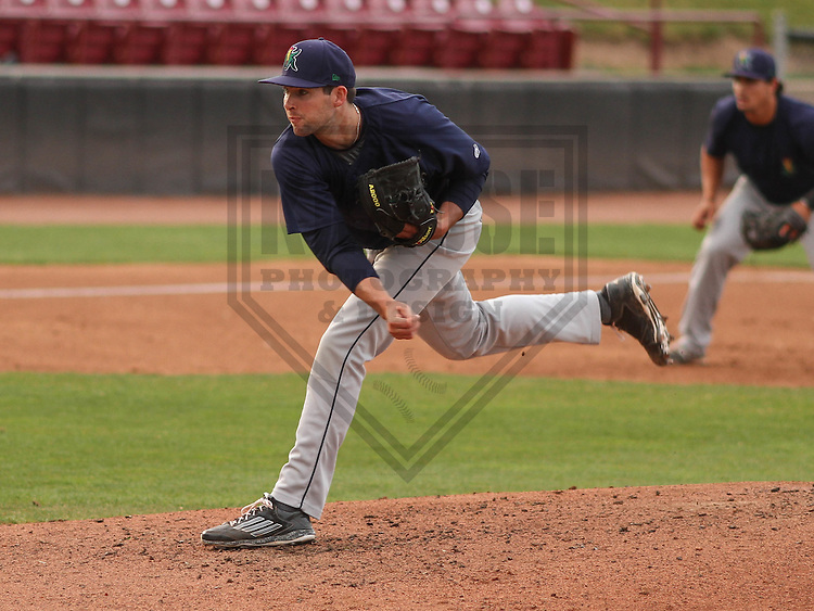 Cedar Rapids Kernels pitcher Jared Wilson (20) during a game against the Wisconsin Timber Rattlers on May 4th, 2015 at Fox Cities Stadium in Appleton, Wisconsin.  Cedar Rapids defeated Wisconsin 9-3.  (Brad Krause/Krause Sports Photography)