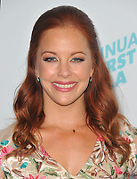 www.acepixs.com<br /> <br /> April 18 2017, LA<br /> <br /> Amy Paffrath arriving at the 8th annual Thirst Gala at The Beverly Hilton Hotel on April 18, 2017 in Beverly Hills, California. <br /> <br /> By Line: Peter West/ACE Pictures<br /> <br /> <br /> ACE Pictures Inc<br /> Tel: 6467670430<br /> Email: info@acepixs.com<br /> www.acepixs.com