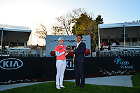 The 2018 Kia Classic tournament Champion Eun-Hee Ji (KOR) during the Final Round at the Kia Classic,Park Hyatt Aviara Resort, Golf Club &amp; Spa, Carlsbad, California, USA. 3/25/18.<br /> Picture: Golffile | Bruce Sherwood<br /> <br /> <br /> All photo usage must carry mandatory copyright credit (&copy; Golffile | Bruce Sherwood)