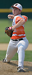 Waterloo pitcher Drake Downing threw a complete game against Carbondale in the Class 3A Salem baseball sectional championship game at Salem HS in Salem, IL on Saturday June 1, 2019.<br /> Tim Vizer/Special to STLhighschoolsports.com