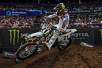 SX 1 / Jason Anderson (USA)<br /> 2018 SX Open - Sydney <br /> Australian Supercross Championships<br /> Qudos Bank Area / Sydney Aus<br /> Saturday Nov 10th 2018<br /> &copy; Sport the library/ Jeff Crow / AME