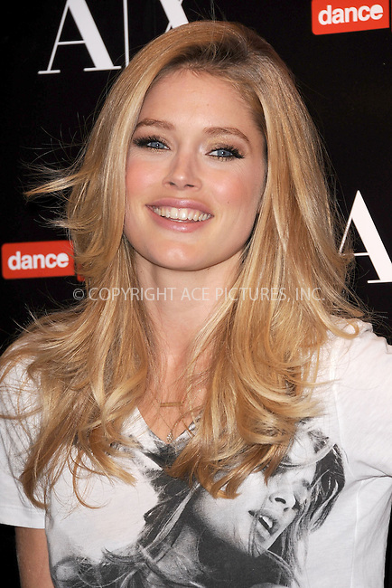 WWW.ACEPIXS.COM . . . . . .November 30, 2011, New York City....A/X Armani Exchange partners with Doutzen Kroes and Dance 4Life in Support of World Aids Day at A/X Armani Exchange in SoHo on November 30, 2011 in New York City.....Please byline: KRISTIN CALLAHAN - ACEPIXS.COM.. . . . . . ..Ace Pictures, Inc: ..tel: (212) 243 8787 or (646) 769 0430..e-mail: info@acepixs.com..web: http://www.acepixs.com .
