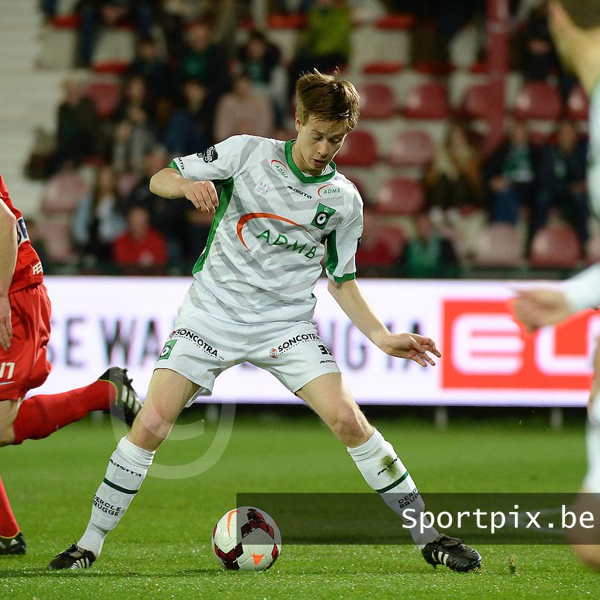 Cercle Brugge KSV  : Mathieu Maertens<br /> foto VDB / BART VANDENBROUCKE