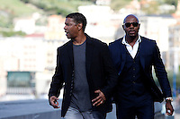 US actor Denzel Wahington and director Antonie Fuqua present the film 'The Equalizer during the 62st San Sebastian Film Festival in San Sebastian, Spain. September 19, 2014. (ALTERPHOTOS/Caro Marin) /NortePhoto.com