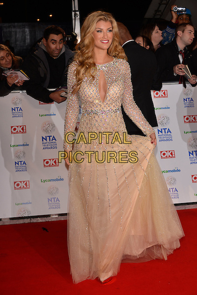 LONDON, ENGLAND - JANUARY 22: Amy Willerton at the National Television Awards at 02 Arena on January 22, 2014 in London, England. <br /> CAP/PL<br /> &copy;Phil Loftus/Capital Pictures