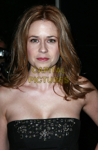 JENNA FISCHER .The New York City premiere of 'Solitary Man' at Cinema 2,  New York, NY, USA, 11th May 2010..arrivals portrait headshot embellished beaded black strapless .CAP/ADM/PZ.©Paul Zimmerman/AdMedia/Capital Pictures.