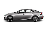 Car driver side profile view of a 2018 Lexus IS 300 4 Door Sedan